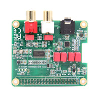 Raspberry Pi PCM5122 HIFI Audio DAC Expansion Board Compatible with Raspberry Pi 4B/3B+/3B