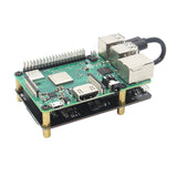 Raspberry Pi 3B+/3B X870 V1.3 M.2 NVMe 2280/2260/2242/2230 SSD Expansion Board