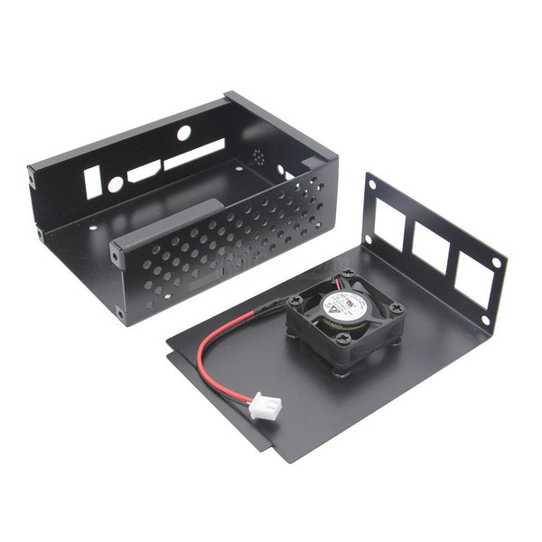 Orange Pi 3 Pretective Metal Case with Cooling Fan Kit