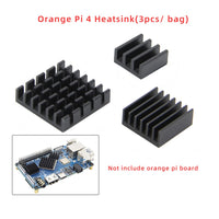 Orange Pi 4 Aluminum Heatsinks 3pcs/bag