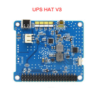 Raspberry Pi 4 UPS HAT V3 3.7V Lithium Battery UPS3 Expansion Board (No batteries)