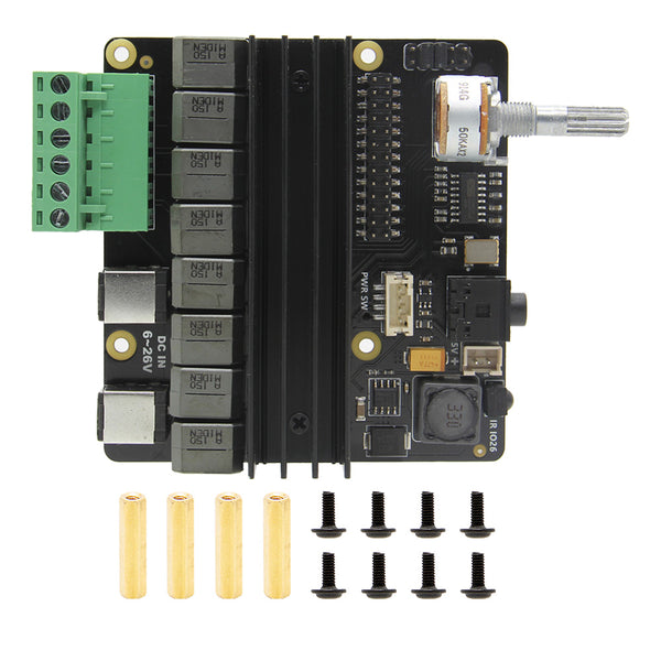 Raspberry Pi 4B/3B+/3B DAC+ AMP Sound Card X450 Expansion Board
