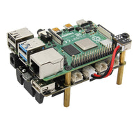 Rapberry Pi 4B/3B+/3B UPS HAT & Auto Power On Shield X705 Power Management Board