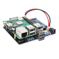 Raspberry Pi X852 V1.1 Dual mSATA SSD Storage Expansion Board