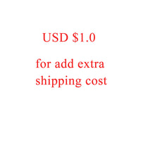 Extra Shipping Cost by DHL , EMS, Fedex....