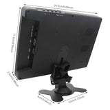10 inch 2K 2560x1600P FHD Monitor IPS Wide Angle Screen with Bracket and Power Supply