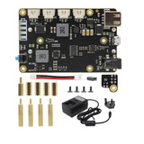 Rapberry Pi 4B/3B+/3B UPS HAT & Auto Power On Shield X705 UPS Expansion Board