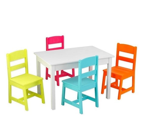 Kids activity table & chairs