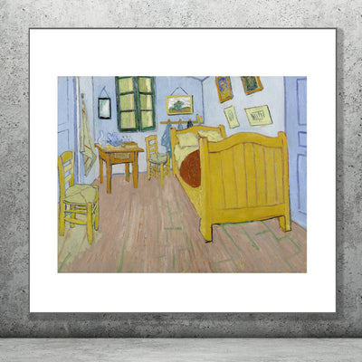 Art print of Bedroom by Van Gogh. Browse our online store or visit our shop in Temple Bar, Dublin for more art prints.