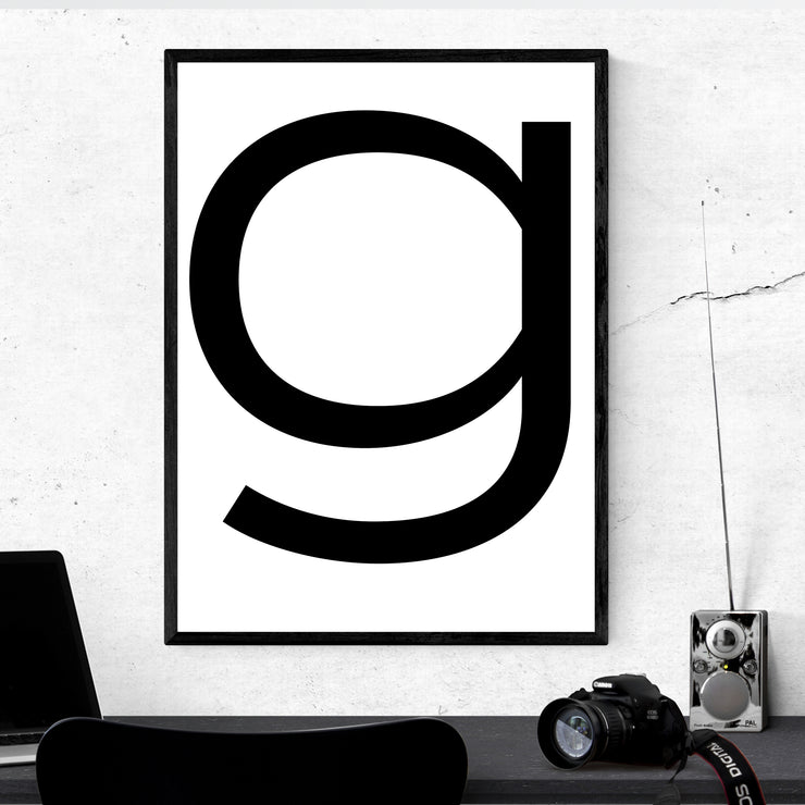Perfect Time G - Art Print