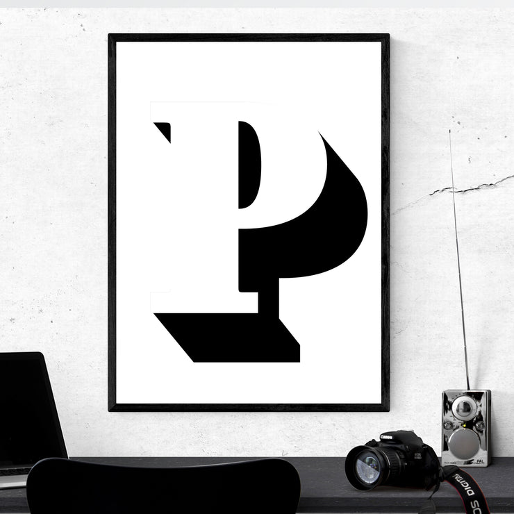 Art prints of typography and letters. Browse our online art prints store or visit our art prints shop in Temple Bar, Dublin.