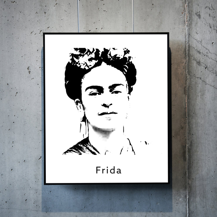 Art print of Frida Kahlo. Browse our online art prints store or visit our art prints shop in Temple Bar, Dublin.