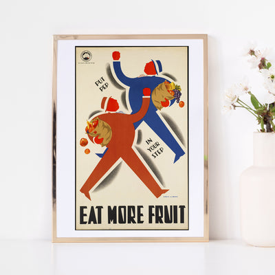 Art print of vintage poster. Browse our online fine art print store or visit our art print shop in Temple Bar, Dublin.
