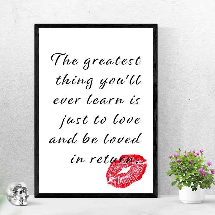 The Greatest Thing - Art Print