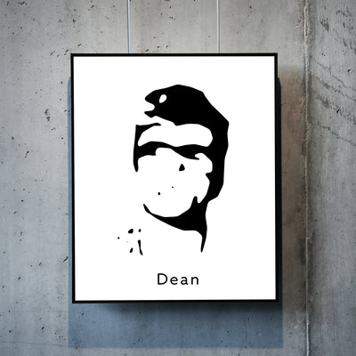 Art print of James Dean. Browse our online art prints store or visit our art prints shop in Temple Bar, Dublin.