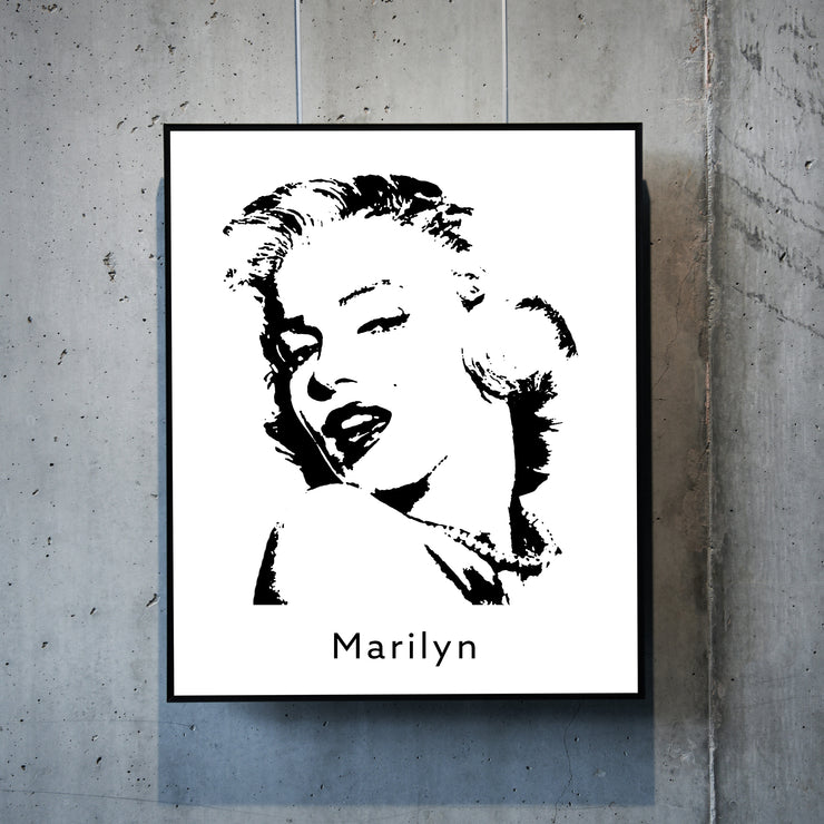 Art print of Marilyn Monroe. Browse our online art prints store or visit our art prints shop in Temple Bar, Dublin.