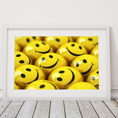 Yellow Smiles - Art Print