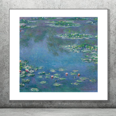 Water Lillies by Monet. Browse our online store or visit our shop in Temple Bar, Dublin for more art prints.