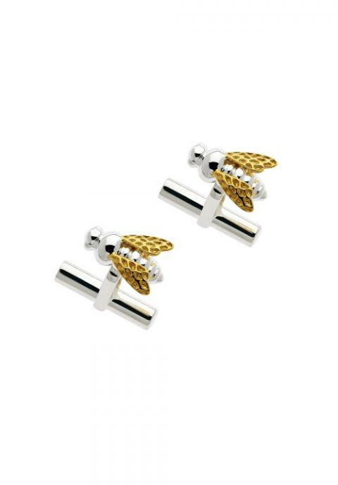 Mens Honey Bee Cufflinks - Strange of London