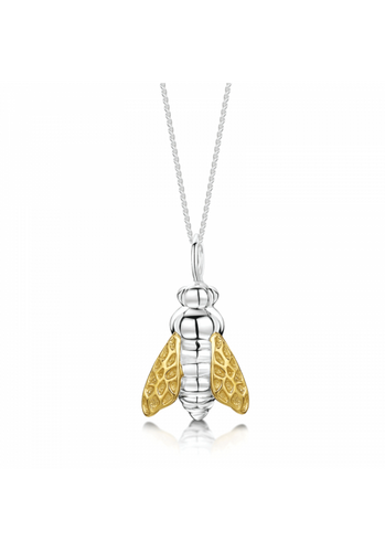 Honey Bee Necklace and Chain