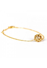 Load image into Gallery viewer, Honeycomb Ball Bracelet