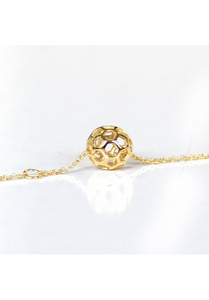Honey Comb Ball Bracelet