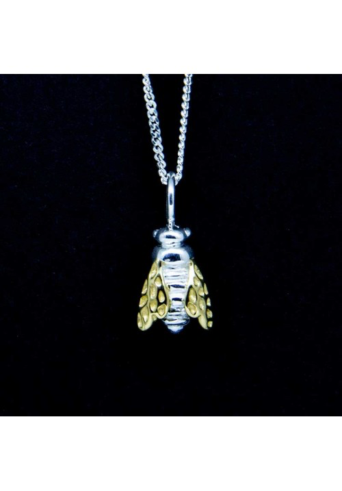 Small Bee Necklace