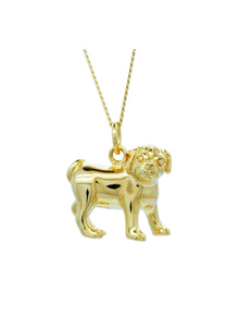 Pug Dog Pendant - Strange of London