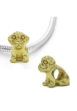 Load image into Gallery viewer, Sitting Pug Dog Charm