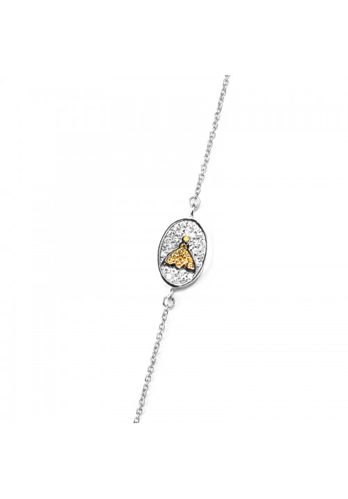 Honey Bee Crystal Bracelet