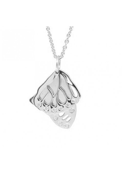 Butterfly Wings in Silver