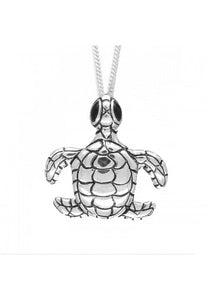 Sea Turtle Pendant - Strange of London