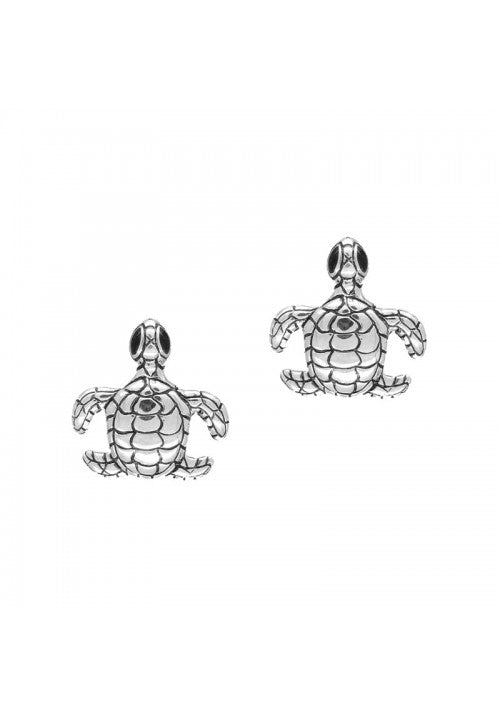 Sea Turtle Stud Earrings - Strange of London