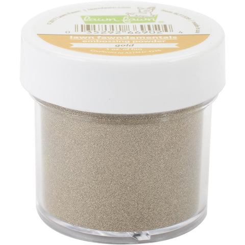 Embossing Powder: Gold