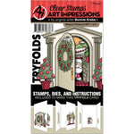 Mini TryFolds Magical Christmas Stamp & Die Set