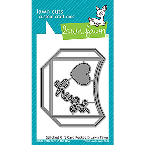 Stitched Gift Card Pocket Lawn Cuts