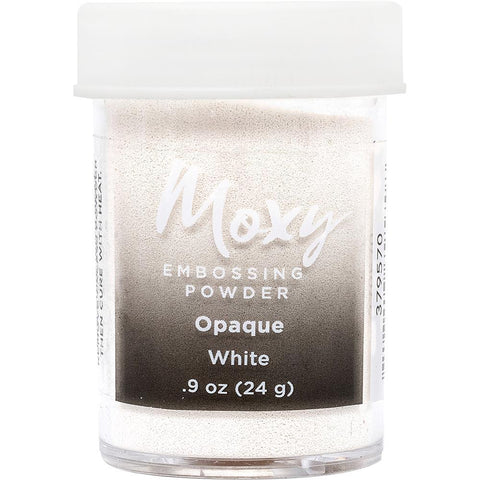 Embossing Powder: Opaque White