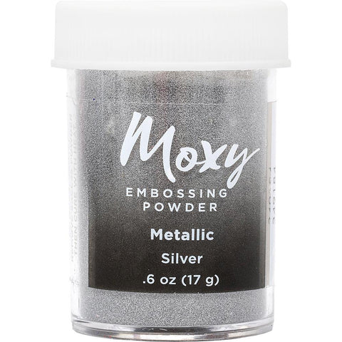 Embossing Powder: Metallic Silver