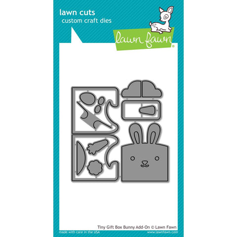 Tiny Gift Box Bunny Add-on Lawn Cuts