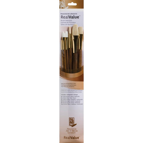 Natural and Synthetic Real Value Brush Set
