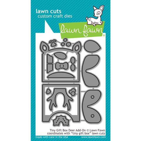 Tiny Gift Box Deer Add-on Lawn Cuts