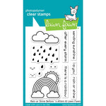 Rain Or Shine Before 'n Afters 3x4 Clear Stamps