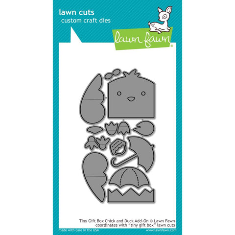 Tiny Gift Box Chick & Duck Add-on Lawn Cuts