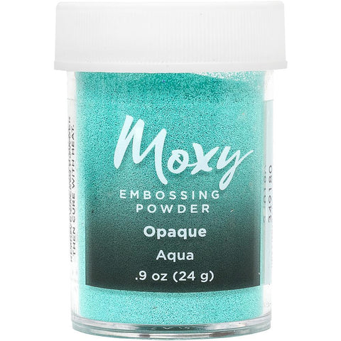 Embossing Powder: Opaque Aqua