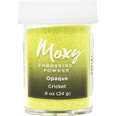 Embossing Powder: Opaque Cricket