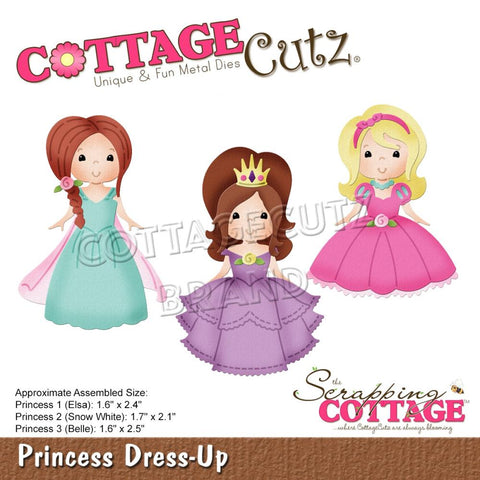 Princess Dress-up CottageCutz
