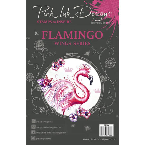 Flamingo Clear Stamp Set
