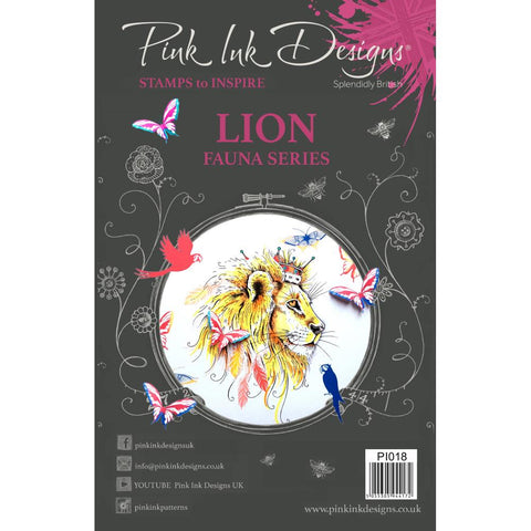 Lion Clear Stamps