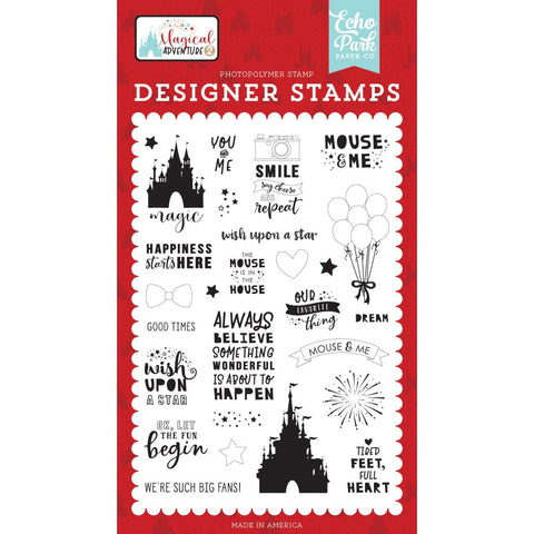Magical Adventure II 4x6 Clear Stamp Set: Our Favorite Things