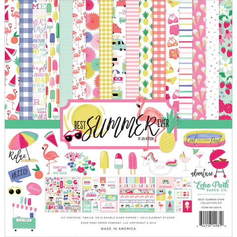Best Summer Ever 12x12 Collection Kit